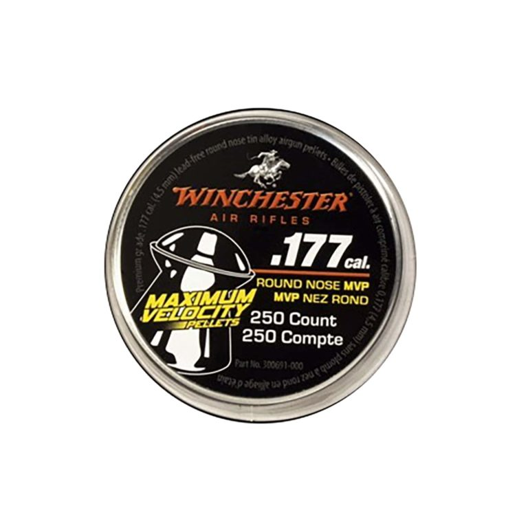 .177 Cal Maximum Velocity Pellet, tin of 250 count